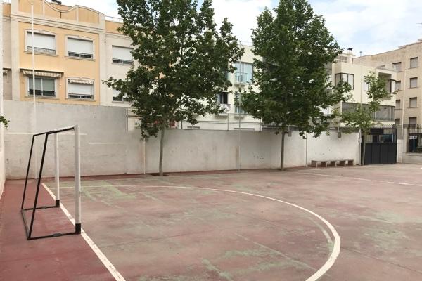 campo de fútbol sala del Casino de Novelda