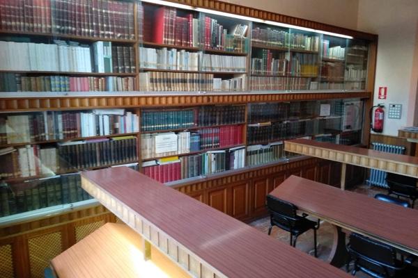 Sala de lectura del Casino de Novelda