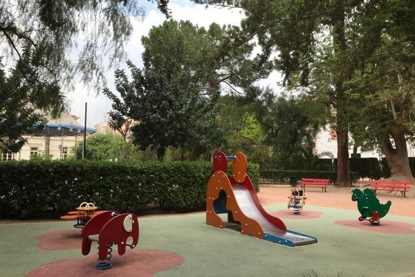 zona juegos infantiles del Casino de Novelda