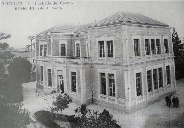 Edificio del Casino de Novelda