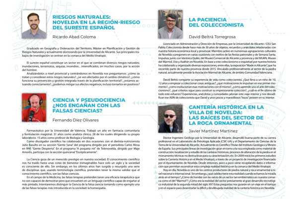 ponentes semana ciencia casino de novelda